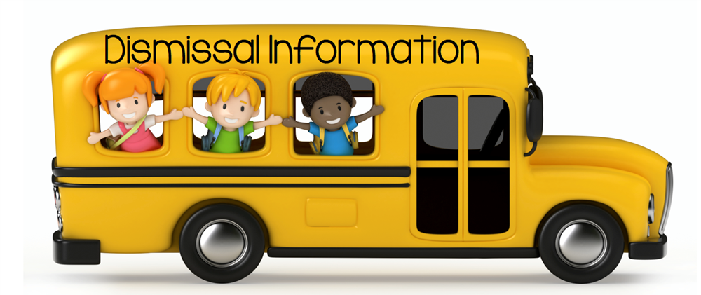 Student Pick-up/Dismissal information