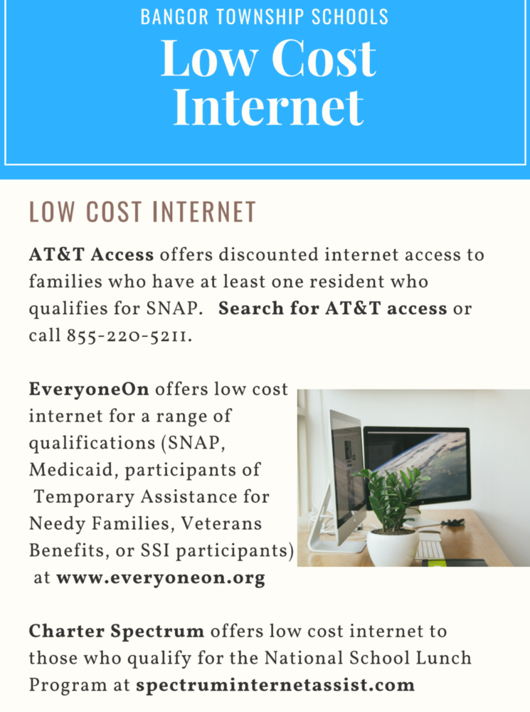 Low Cost Internet and Computers