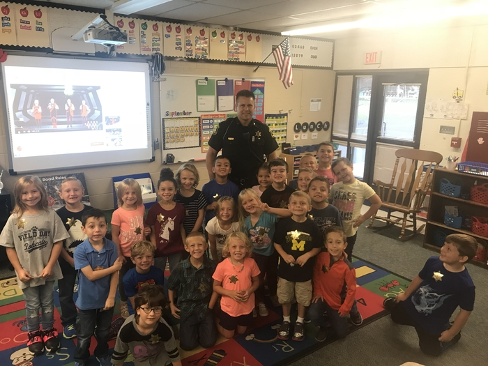 Officer with first grade
